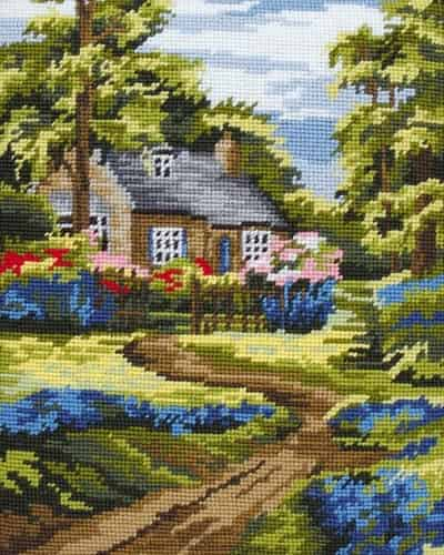 Anchor Tapestry Kit - Spring Scene MR841