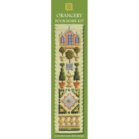Textile Heritage Cross Stitch Kit - Bookmark - Orangery - Made in Scotland