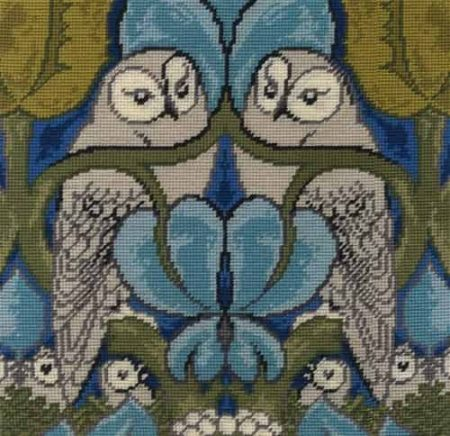 DMC Tapestry Kit - The Owl by CFA Vosey - V & A Museum Collection C121K/77