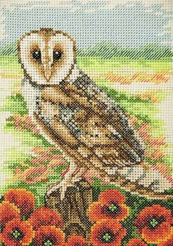 Anchor Cross Stitch Kit - Owl