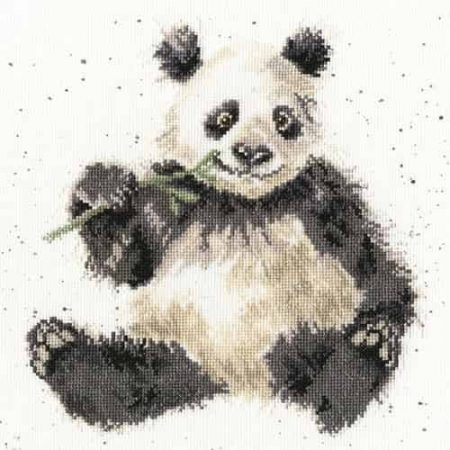Bothy Threads Cross Stitch Kit - Bamboozled, Panda XHD28