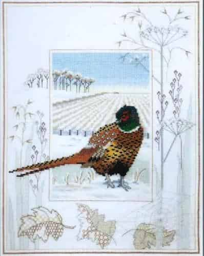 Derwentwater Designs Cross Stitch Kit - Pheasant