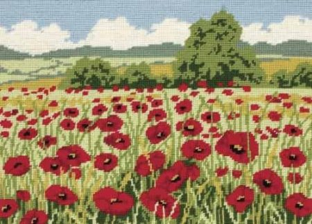 Anchor Needlepoint Tapestry Kit - Poppy Field MR76972