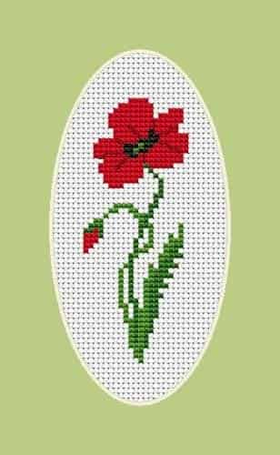 Luca S Cross Stitch Kit - Poppy B1061