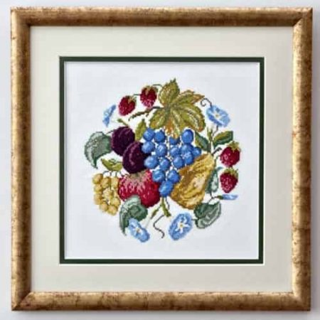 Twilleys of Stamford Cross Stitch Kit - Profusion, Fruit