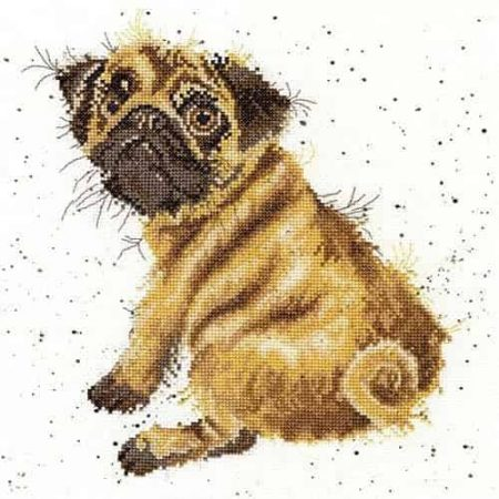 Bothy Threads Cross Stitch Kit - Pug XHD11