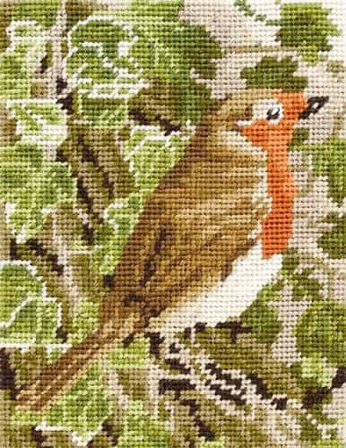 Anchor Needlepoint Tapestry Kit - Robin MR935