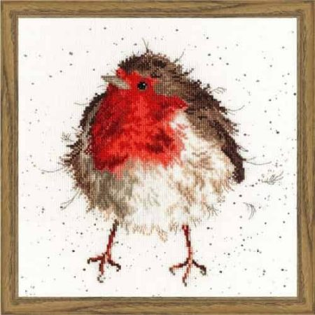 Bothy Threads Cross Stitch Kit - Jolly Robin XHD5
