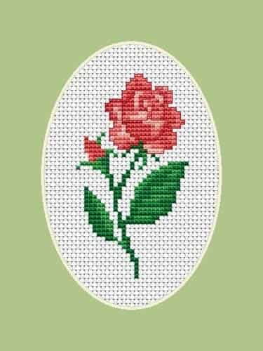 Luca S Cross Stitch Kit - Rose B1062