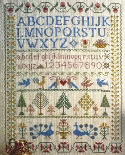 Anchor Cross Stitch Kit - Victorian Sampler CC78962
