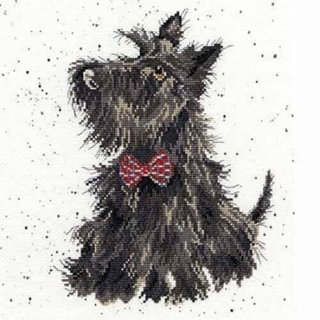 Bothy Threads Cross Stitch Kit - Scottie XHD13