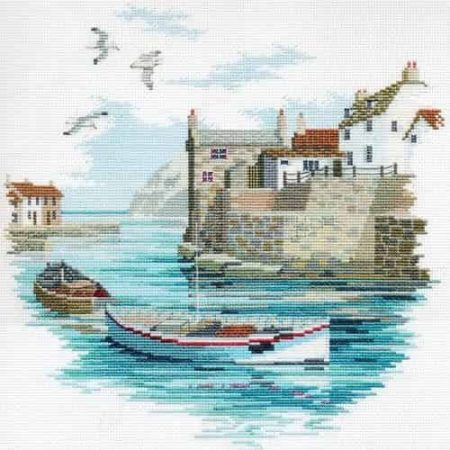 Derwentwater Designs Cross Stitch Kit - Secluded Port, Harbour
