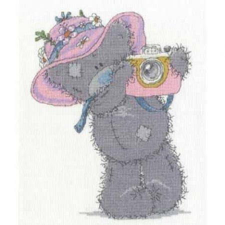 DMC Cross Stitch Kit - Tatty Teddy Me to You Snapshots BL1128/72