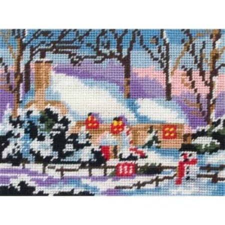 Anchor Tapestry Kit - Snow Cottage MR963