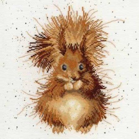 Bothy Threads Cross Stitch Kit - The Nutcracker, Squirrel XHD14