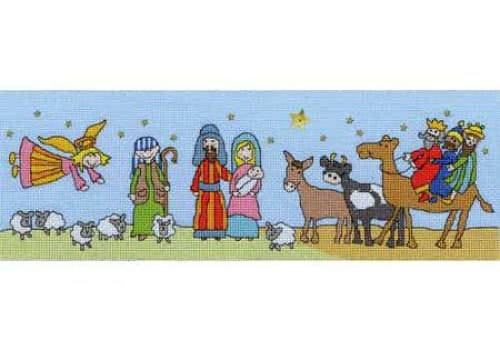 Bothy Threads Cross Stitch Kit - Star of Bethlehem XX10