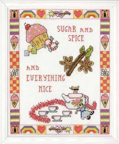 Design Works Cross Stitch Kit - Sugar and Spice