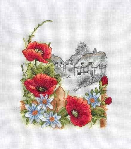 Anchor Cross Stitch Kit - Summer Days, Flowers PCE559