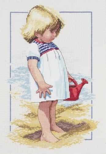 Janlynn Cross Stitch Kit - Summer Afternoon