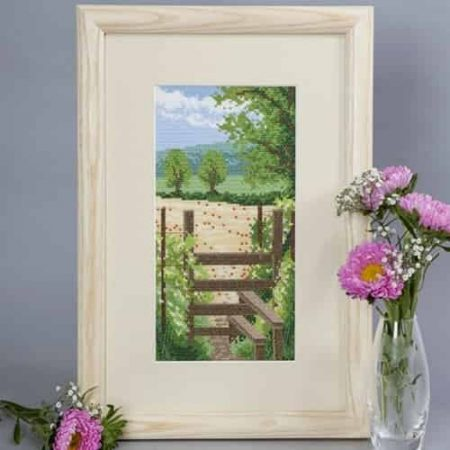 Twilleys of Stamford Cross Stitch Kit - Seasonal Walk - Summer