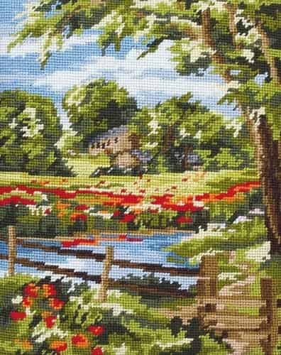 Anchor Tapestry Kit - Summer Scene MR842