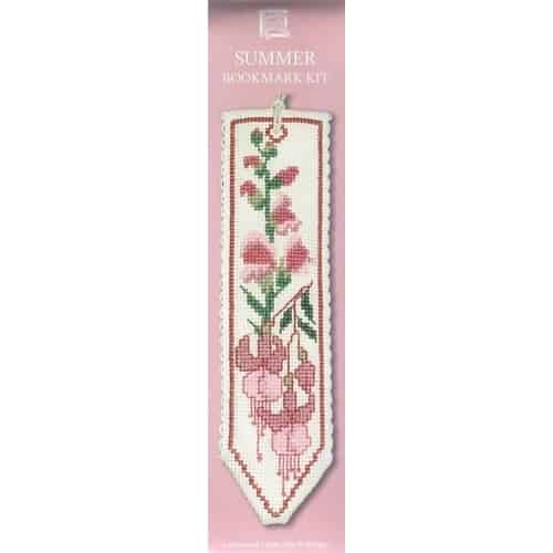 Textile Heritage Flowers of Scotland Counted Cross Stitch Bookmark Kit