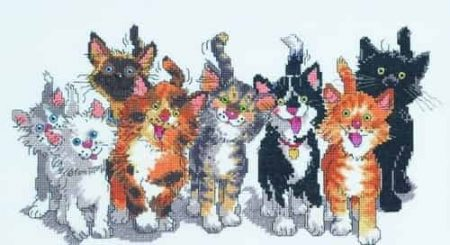 Janlynn Cross Stitch Kit - Suzy's Zoo - Tails of Duckport
