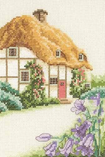 Anchor Cross Stitch Kit - Thatched Cottage AK121