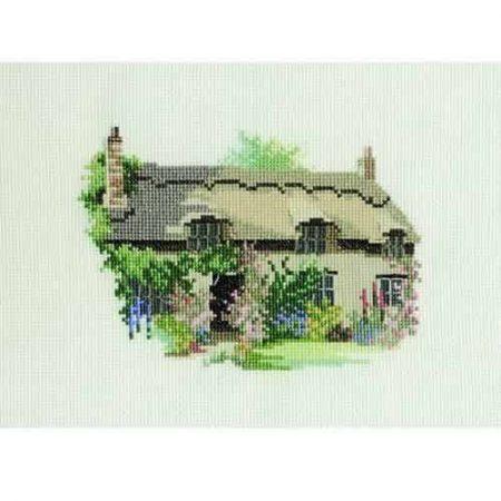 Derwentwater Designs Cross Stitch Kit - Thornton Le Dale Cottage