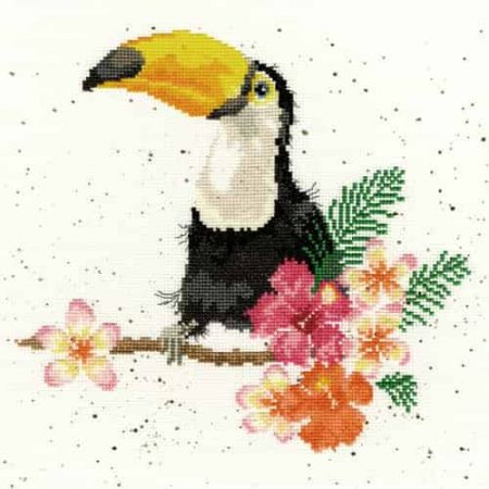 Bothy Threads Cross Stitch Kit - Toucan of my Affection XHD21