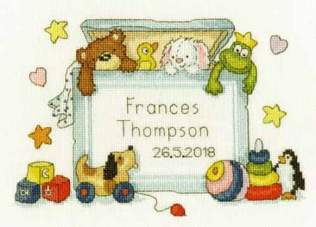 Bothy Threads Cross Stitch Kit - Toy Box XNB3