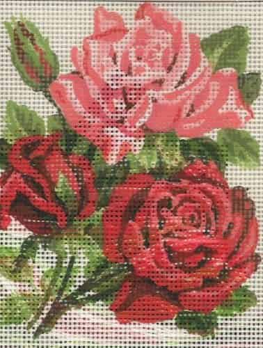 Grafitec Needlepoint Tapestry Kit - Trio of Roses