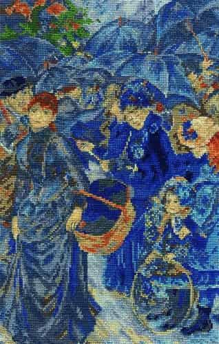 DMC Cross Stitch Kit - National Gallery Renoir - The Umbrellas BL1110/71