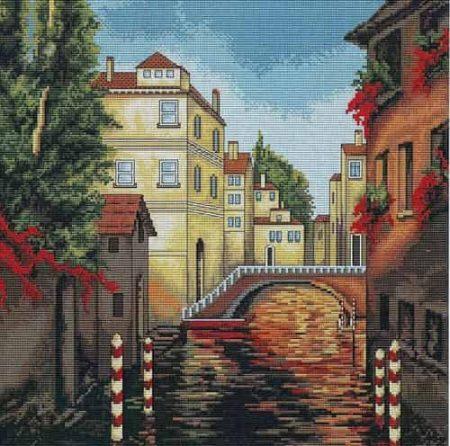Luca S Cross Stitch Kit - Venice B202