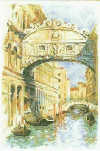 Riolis Cross Stitch Kit - Venice Bridge of Sighs