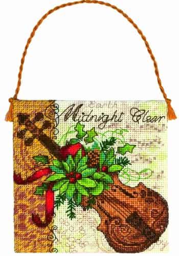 Dimensions Gold Petites Cross Stitch Kit - Christmas Ornament - Violin