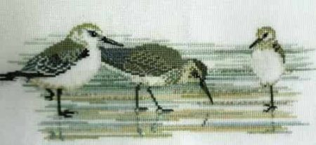 Derwentwater Designs Cross Stitch Kit - Waders