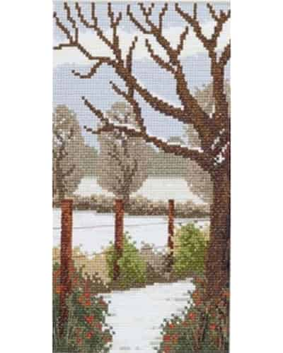 Twilleys of Stamford Cross Stitch Kit - Seasonal Walk - Winter