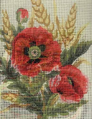 Grafitec Needlepoint Tapestry Kit - Poppies and Wheat