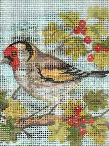 Grafitec Needlepoint Tapestry Kit - White Wren
