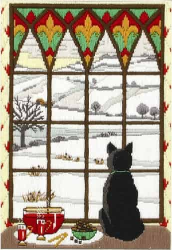 Anchor Long Stitch Kit - Winter Through the Window AL78467