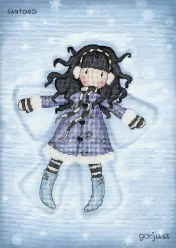 Bothy Threads Cross Stitch Kit - Gorjuss - Winter Time XG41