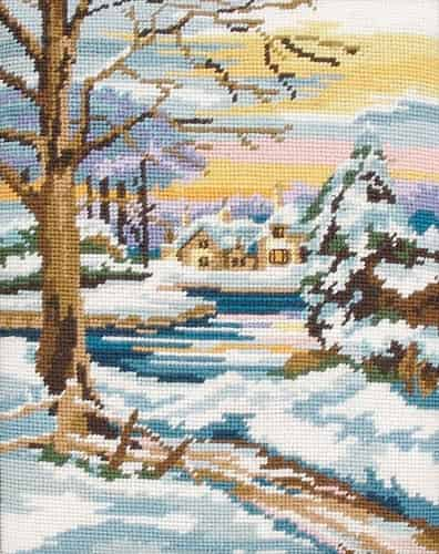 Anchor Tapestry Kit - Winter Scene MR844