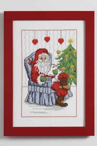 Anchor Cross Stitch Kit - Wish List, Christmas