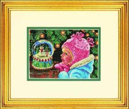 Dimensions Gold Petites Cross Stitch Kit - Christmas Wishes
