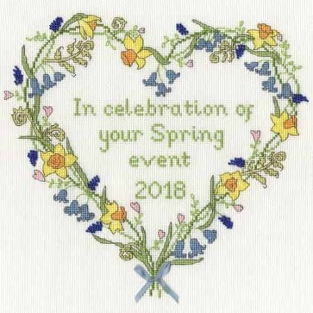 Bothy Threads Cross Stitch Kit - Spring Celebration XAH2