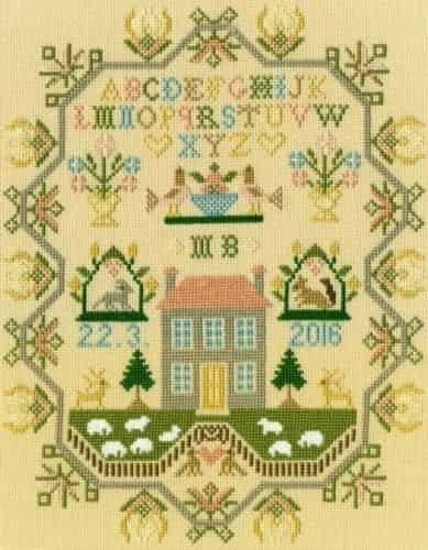 Bothy Threads Cross Stitch Kit - Sheep May Safely Graze XS8